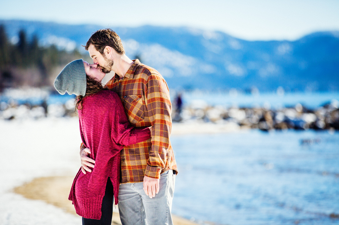 best engagement portraits at lake tahoe