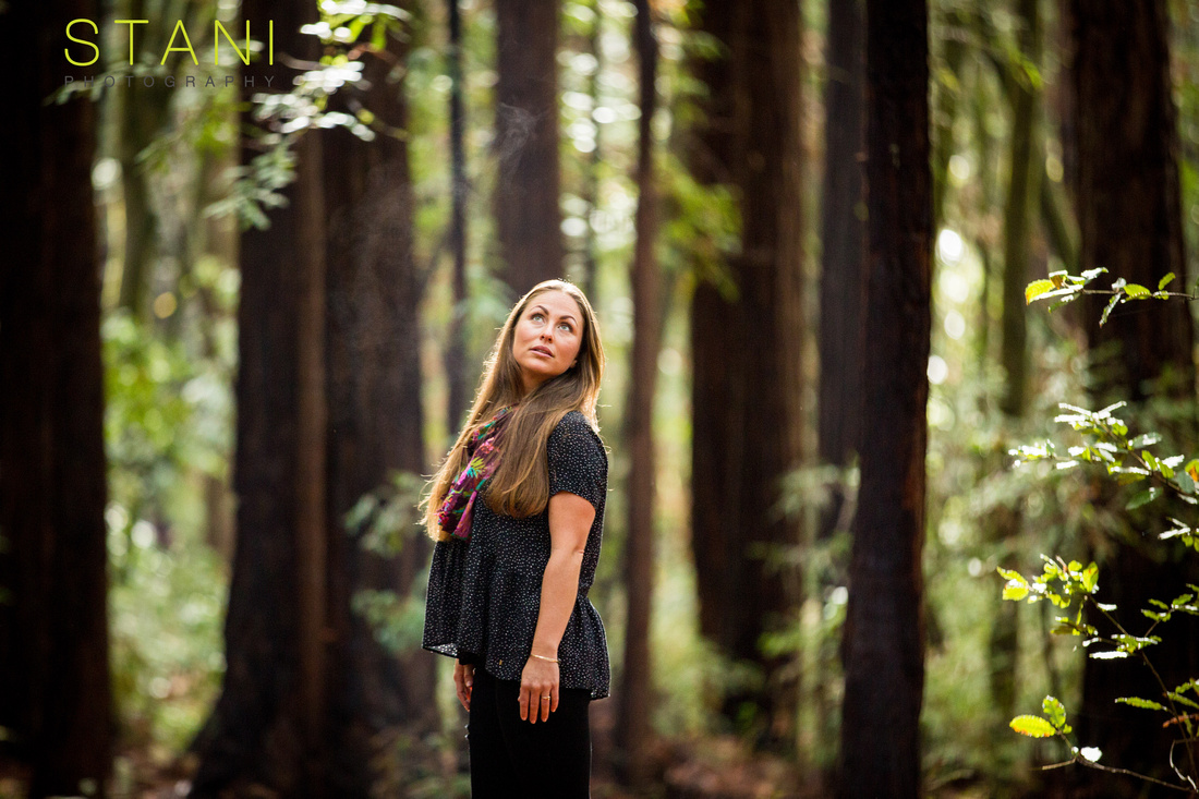 beauty portraits in the forest muir woods