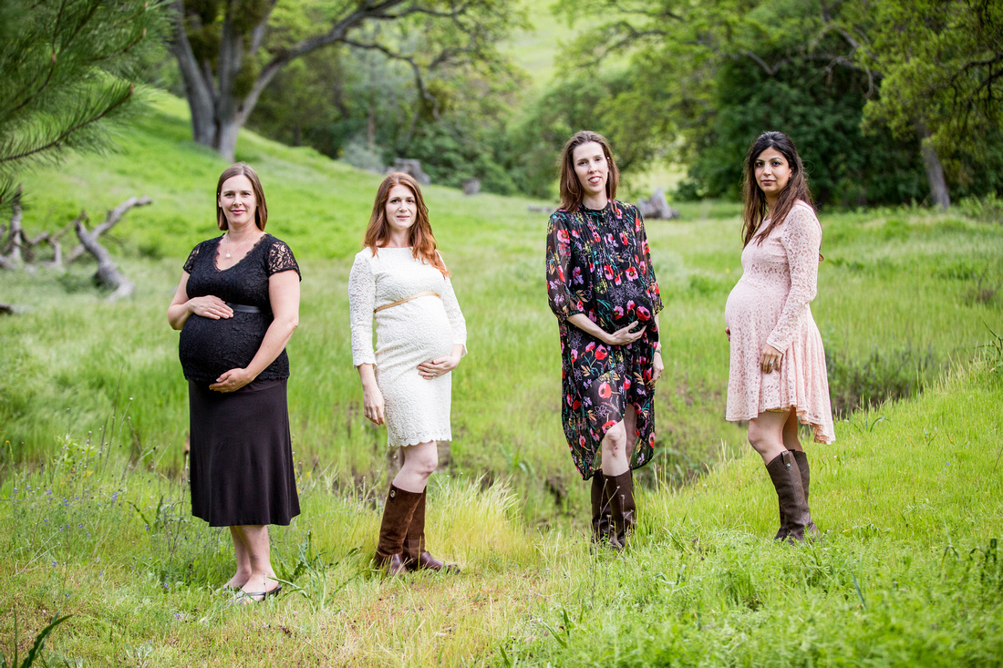 group maternity in nature